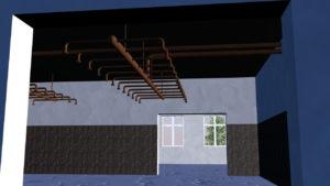 Centrální sauna