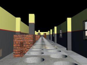 Dámské latríny
